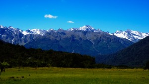 Here in Australia we don't get snow capped mountains like the southern alps in New Zealand.