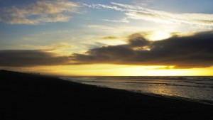 Sunset at Hokitika