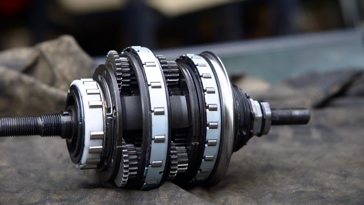 Shimano Nexus 8: Stripped down & Reassembled